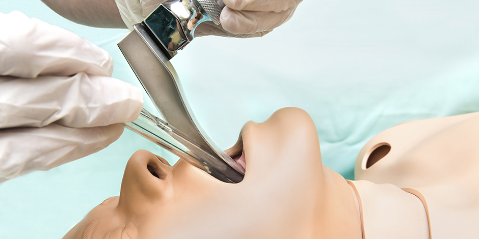 Basic endotracheal intubation